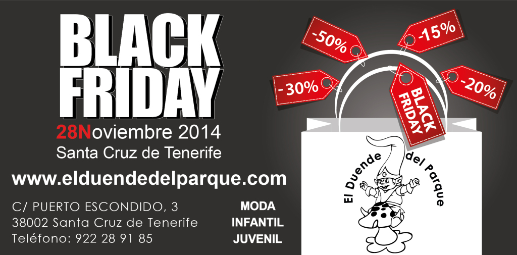 BlackFriday Santa Cruz de Tenerife
